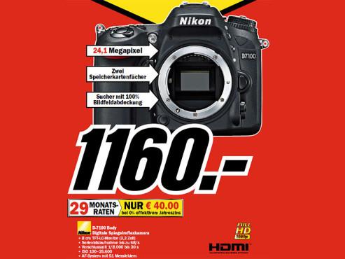 Nikon D7100 Body ©COMPUTER BILD