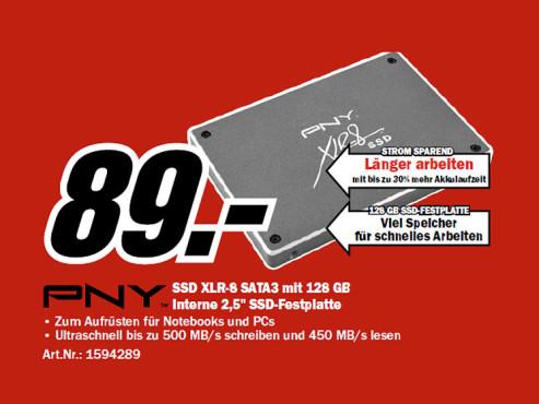 PNY XLR8 SSD 120GB ©COMPUTER BILD