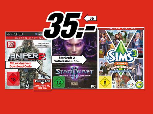 Videospiele ©COMPUTER BILD