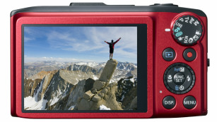 R�ckseite Canon PowerShot SX280 HS ©Canon