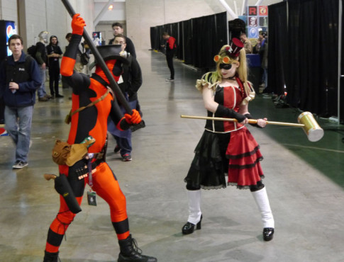 Cosplayer auf der PAX East 2013 © computerbild