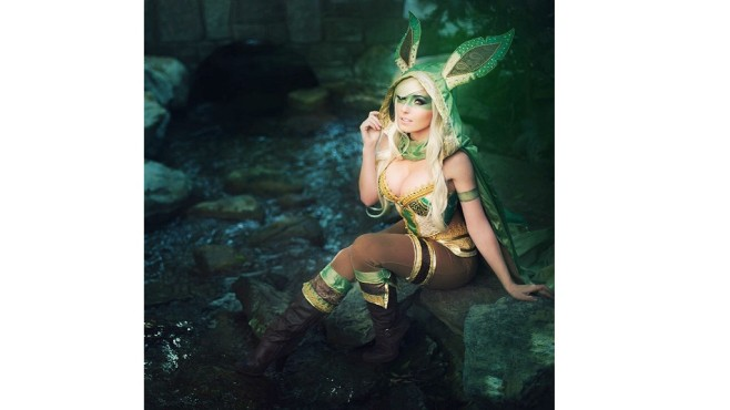 Spieler in Kost�men: Cosplayer sind �berall! © Jessica Nigri