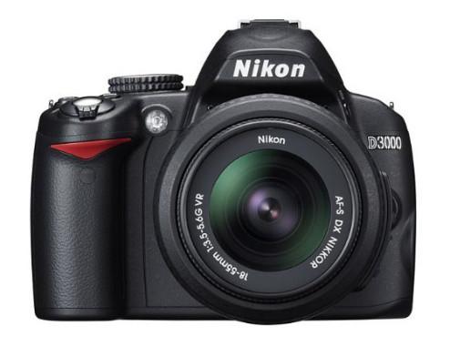 Nikon D3000 ©Nikon