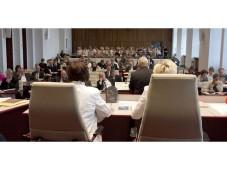 Der Plenarsaal im Schweriner Landtag ©Landtag M-V