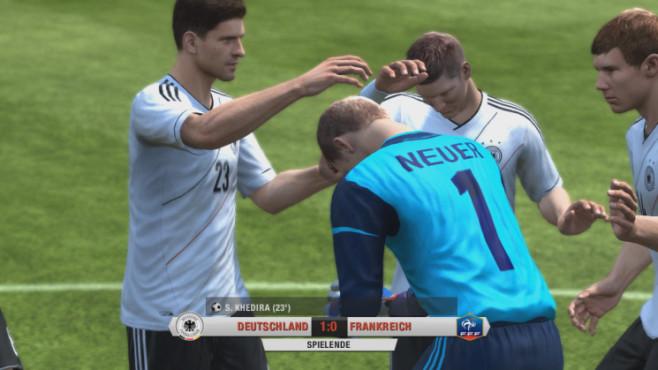 Fußballspiel Fifa 13: Analogstick ©Electronic Arts