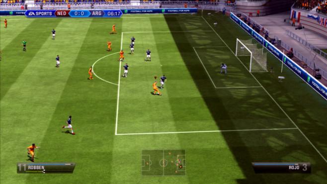 Fußballspiel Fifa 13: Robben ©Electronic Arts
