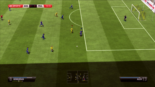 Fußballspiel Fifa 13: Tempo ©Electronic Arts