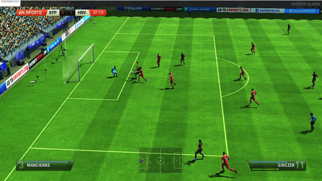Fu�ballspiel Fifa 13: Wii U ©Electronic Arts