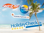 Test: Reisen online buchen&nbsp;&copy;&nbsp;Thomas Cook Touristik GmbH, KG Travel Overland Flugreisen GmbH &amp; Co., HolidayCheck AG, COMVEL GmbH