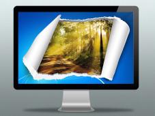 PC-Sch�nheitskur: Kostenlose Screensaver und Wallpaper ©arturaliev - Fotolia.com, Microsoft, Artwork-Pictures
