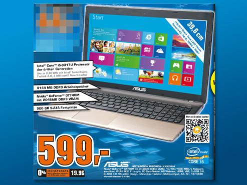 ASUS R505CB-XX236H i5-3317U/6GB/500GB ©Saturn