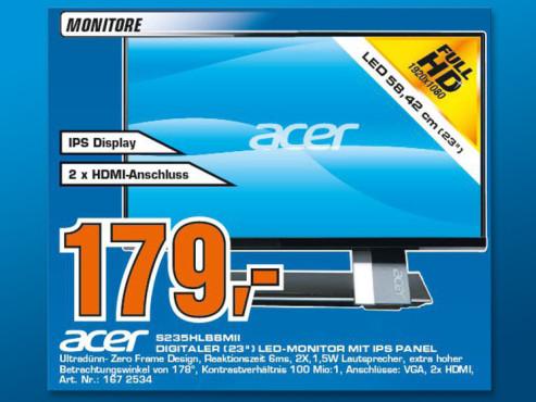 Acer S235HLBbmii ©Saturn