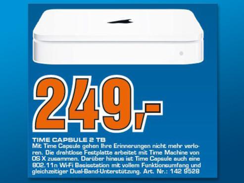 Apple Time Capsule 2TB ©Saturn
