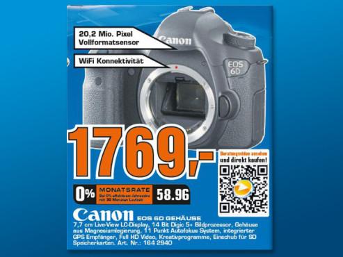 Canon EOS 6D ©Saturn