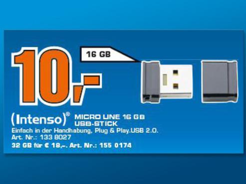 Intenso Micro Line 16GB ©Saturn