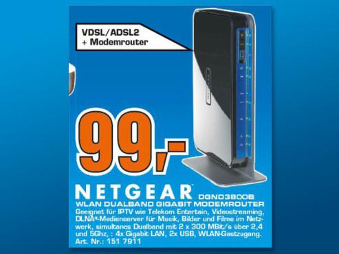 Netgear N600 DGND3800B ©Saturn