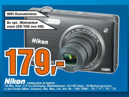 Nikon COOLPIX S5200 ©Saturn