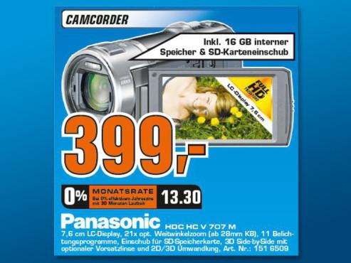 Panasonic HC-V707 ©Saturn
