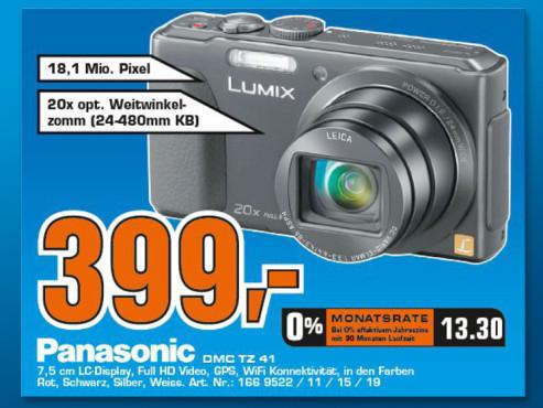 Panasonic Lumix DMC-TZ41 ©Saturn