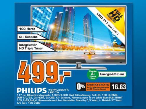 Philips 46PFL3807K ©Saturn