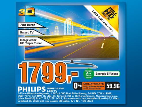 Philips 55PFL6158K ©Saturn