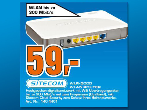 Sitecom WLR-5000 ©Saturn