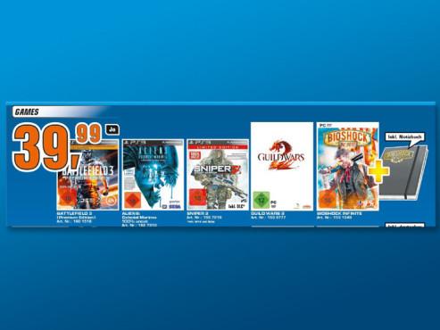 Videospiele ©Saturn