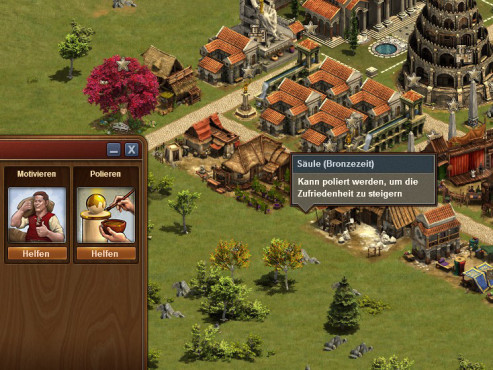 Forge of Empires: Motivieren © InnoGames