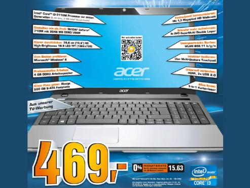 Acer Aspire E1-571G-33114G50MNKS ©COMPUTER BILD