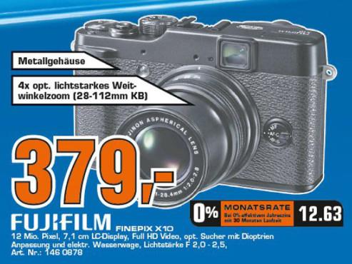 Fujifilm FinePix X10 ©COMPUTER BILD
