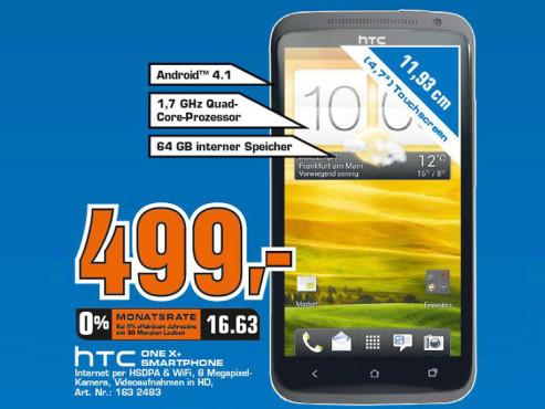 HTC One X Plus 64GB ©COMPUTER BILD