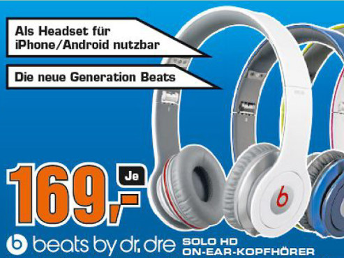 Monster Beats Solo HD by Dr. Dre with Control Talk © COMPUTER BILD