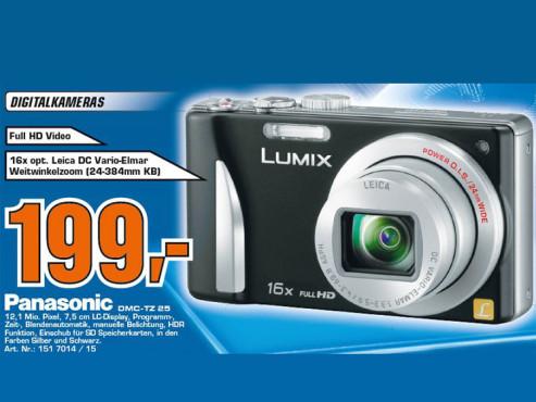 Panasonic Lumix DMC-TZ25 ©COMPUTER BILD