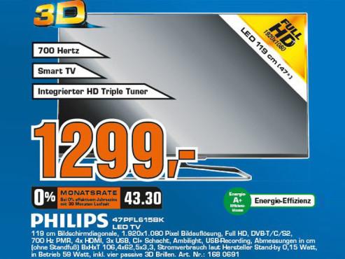Philips 47PFL6158K ©COMPUTER BILD