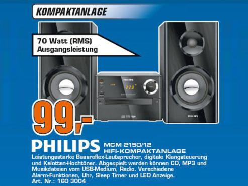 Philips MCM2150 ©COMPUTER BILD