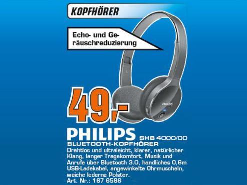Philips SHB4000/00 ©COMPUTER BILD