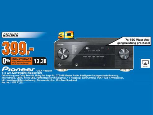 Pioneer VSX-1122-K ©COMPUTER BILD