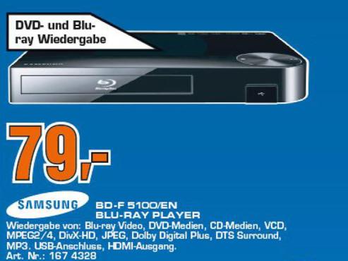 Samsung BD-F5100 ©COMPUTER BILD