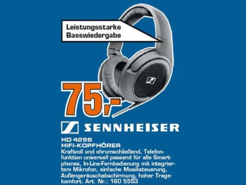 Sennheiser HD 429 ©COMPUTER BILD