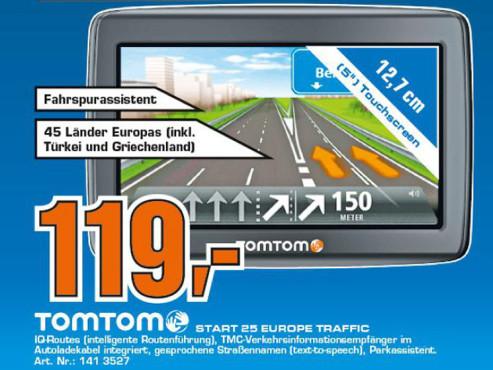 TomTom Start 25 Europe Traffic ©COMPUTER BILD