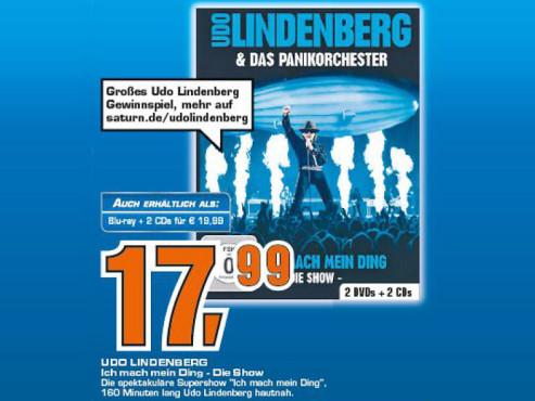 Udo Lindenberg & Das Panikorchester - Ich mach mein Ding - Die Show ©COMPUTER BILD