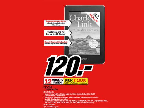 Amazon Kindle Paperwhite WiFi ©Media Markt