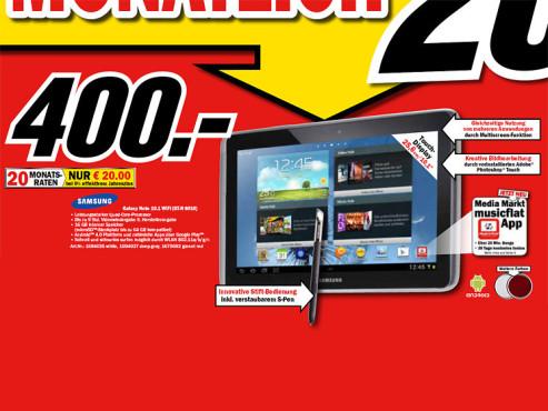Samsung Galaxy Note 10.1 16GB WiFi ©Media Markt