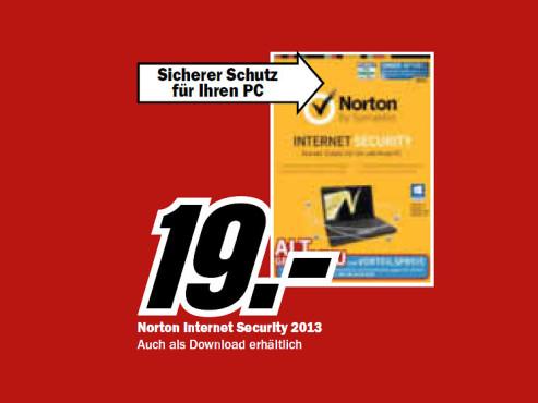 Symantec Norton Internet Security 2013 (1 User) (1 Jahr) (Win) (DE) ©Media Markt