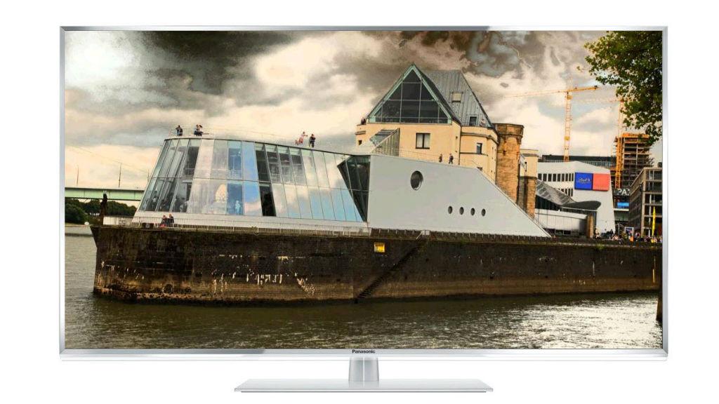 Panasonic TX-L42ETW60 im Test Die ETW60-Serie von Panasonic gibt es mit Bildschirmdiagonalen von 42, 47, 50 und 55 Zoll.©Panasonic