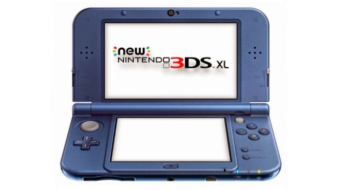 New Nintendo 3DS XL metallic blau © Nintendo