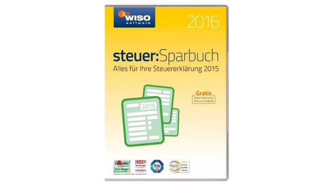 WISO steuer:Sparbuch 2016 © Buhl Data