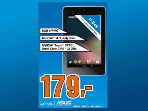 Asus Google Nexus 7 8GB © Saturn