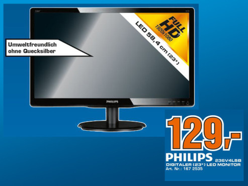 Philips 236V4LSB © Saturn