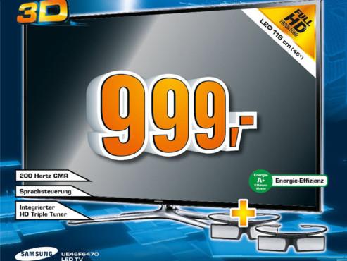 Samsung UE46F6470 ©Saturn